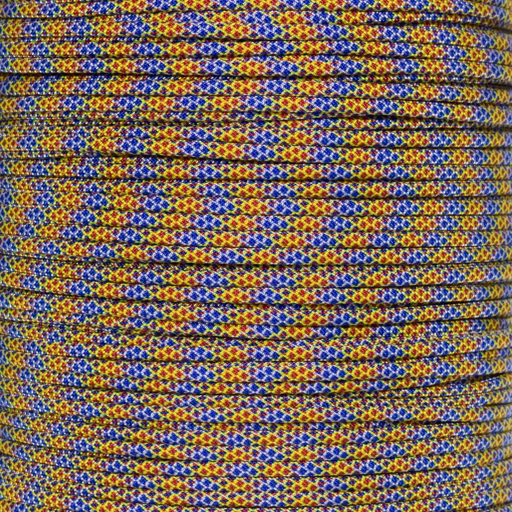 PARACORD PLANET 10 20 25 50 100 Foot Hanks and 250 1000 Foot Spools of Parachute 550 Cord Type III 7 Strand Paracord