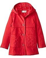 Widgeon Big Girls'  Hooded Embellish Pocket Coat
