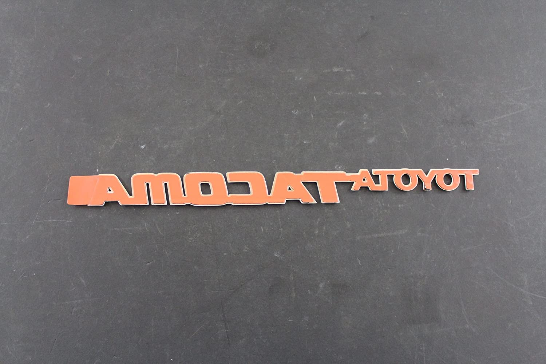 Genuine Toyota Accessories 75473-04010 Toyota Tacoma Fender Emblem