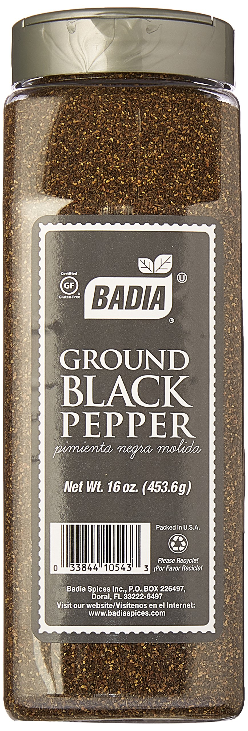 Badia Pepper Black Ground 16 oz