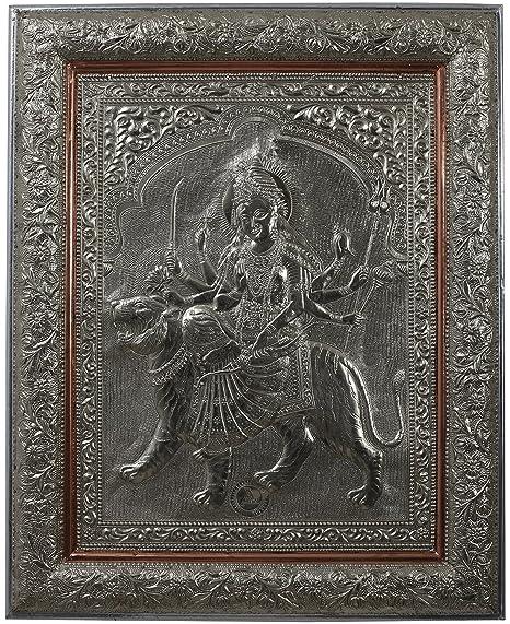Kapasi Handicrafts Hindu Goddess Ambaji Ambe Maa Durga Maa Ma