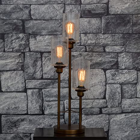 Buy The White Teak Company Old World Charm Table Lamp For Living Room Dining Or Bedroom Bronze Online At Low Prices In India