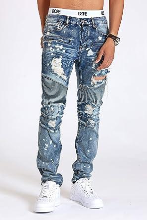 95c9fd2a DOPE Carson Denim (Blue, 36) at Amazon Men's Clothing store: