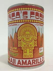 Aji Amarillo Inca's Food Yellow Hot Pepper