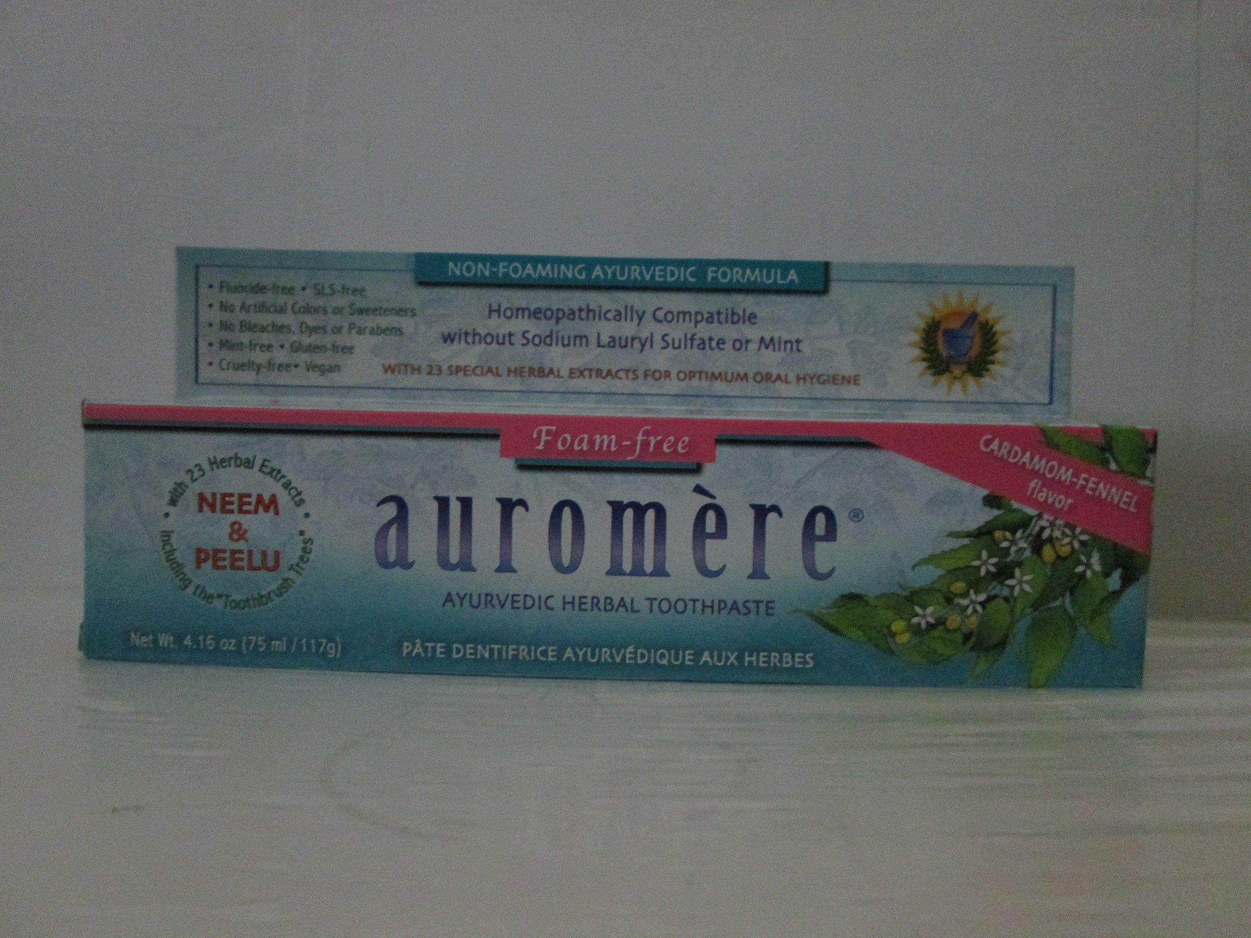 Auromere Tpste Sls Free Cardamom 4.16 Oz Case_12