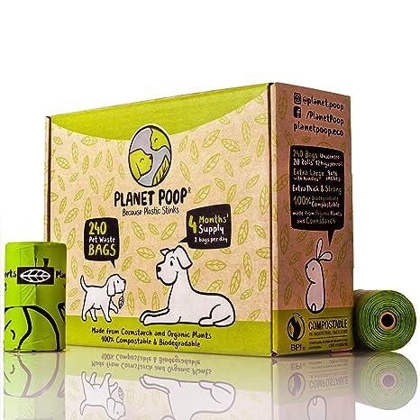 Planet Poop - Bolsas para caca de perro compostables ...