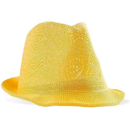 Sombrero de Pascua amarillo para chicos 3a8784e9ba8