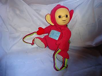 Teletubbies Po as a backpack.  Amazon.co.uk  Toys   Games bfe744c716
