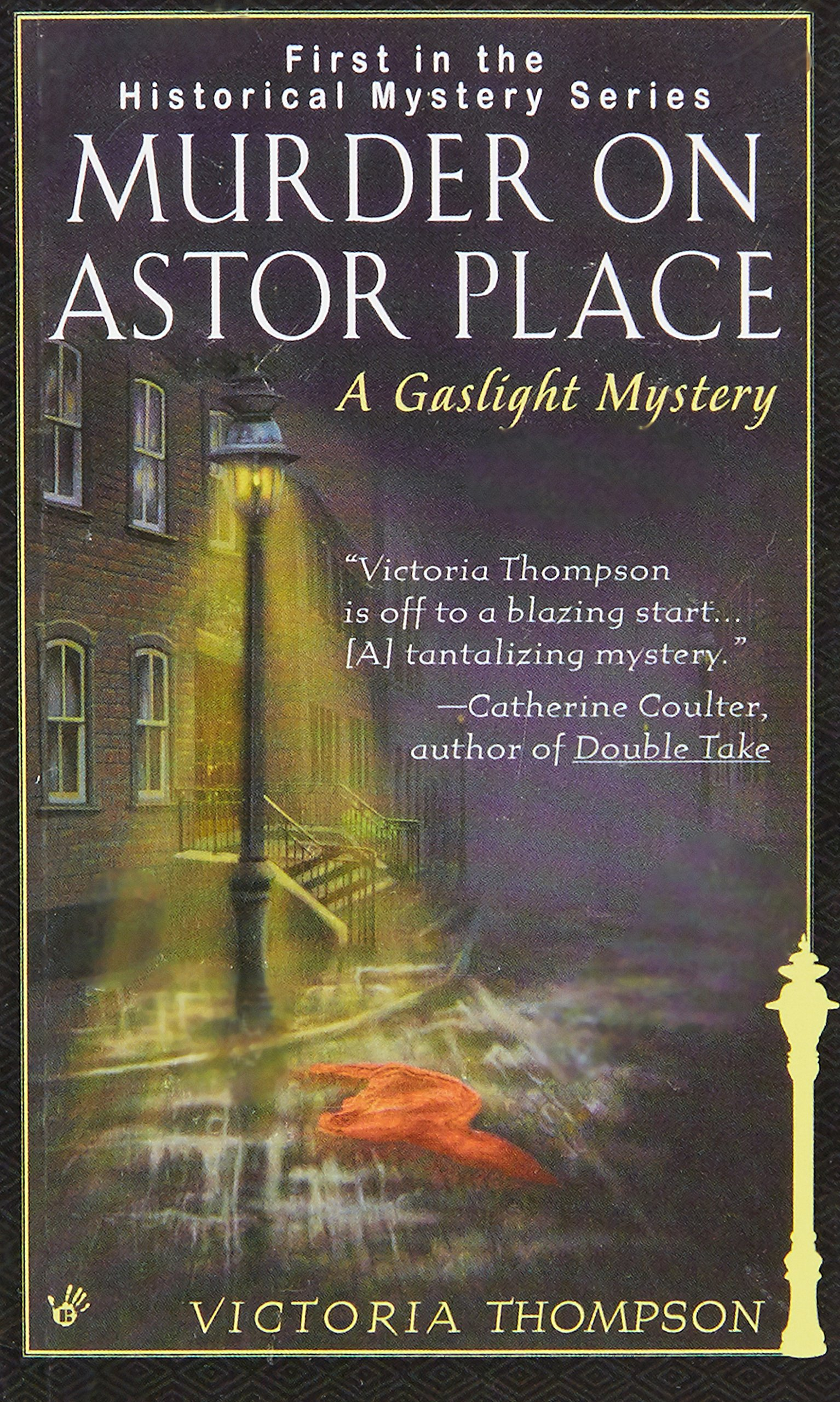 Murder On Astor Place: A Gaslight Mystery: Victoria Thompson:  9780425168967: Amazon: Books