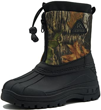 86b76d24350bf Amazon.com: Kids Snow Boots Waterproof Insulated winter boots for Girls and  Boys: Clothing