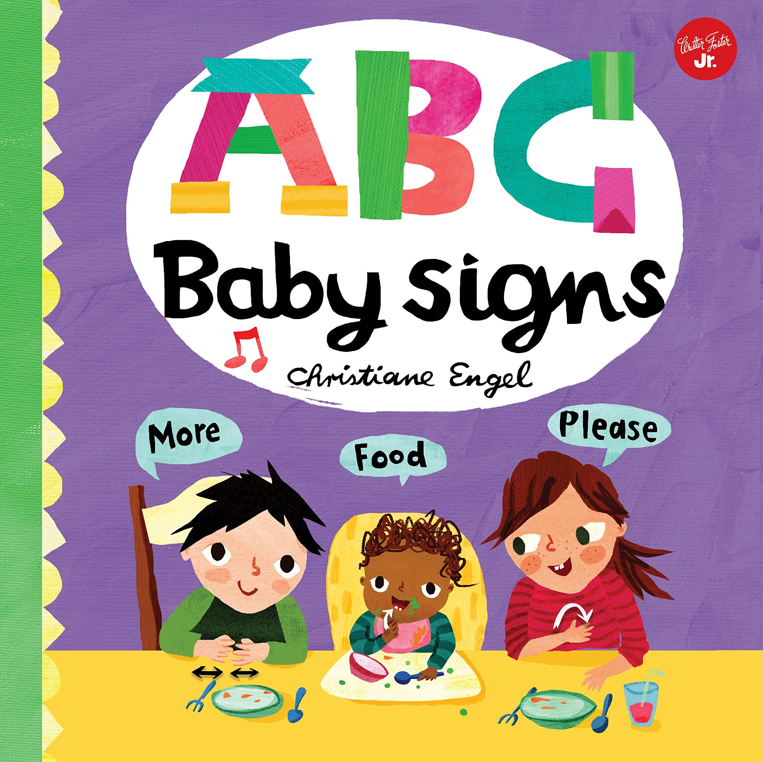Read Online ABC for Me: ABC Baby Signs: Learn baby sign language while you practice your ABCs! pdf epub