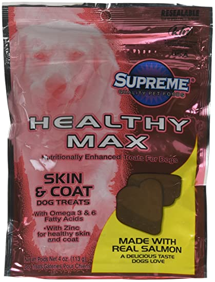 Com Tuffys Pet Foods Tuffy S Supreme Healthy Max Skin Coat Dog Treat 1 Count One Size Snack Treats Supplies
