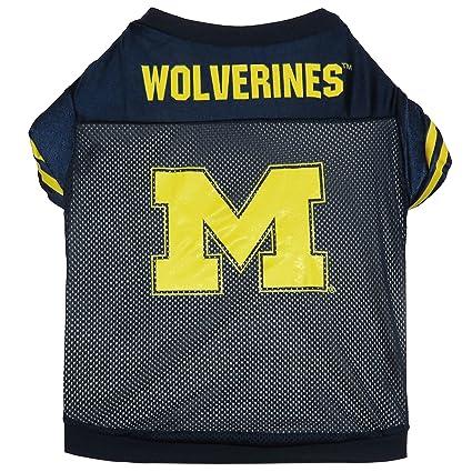 e40f61641 Amazon.com   Sporty K9 Michigan Football Dog Jersey II- X-Large ...