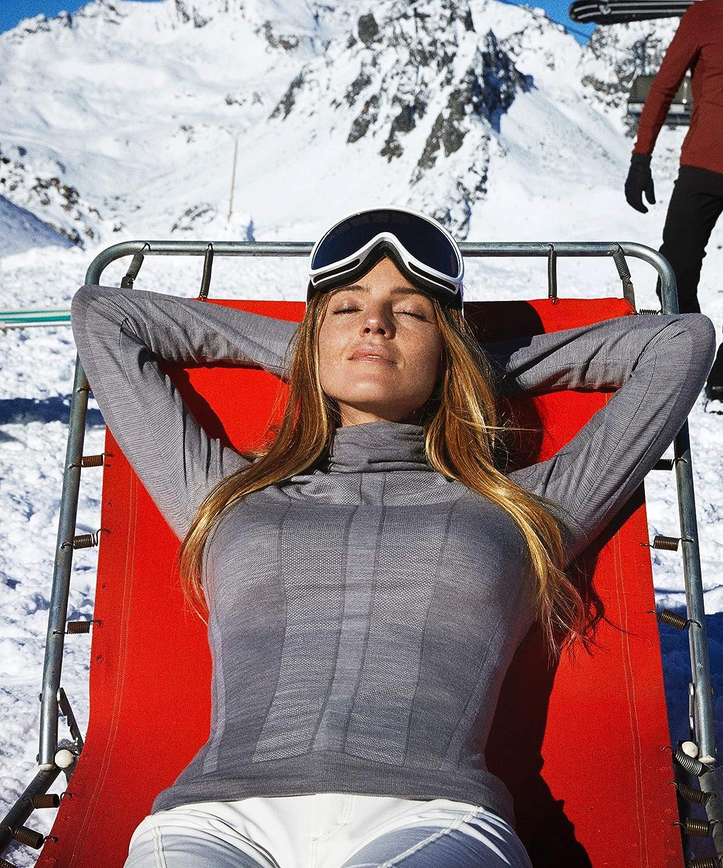Long Sleeve Trend Women Camicia Donna FALKE ESS Wool Tech