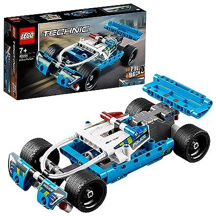 De PolicialCoche Para E Aventuras42091 Technic Lego Imaginar Cazador Juguete Construir b76fgYy