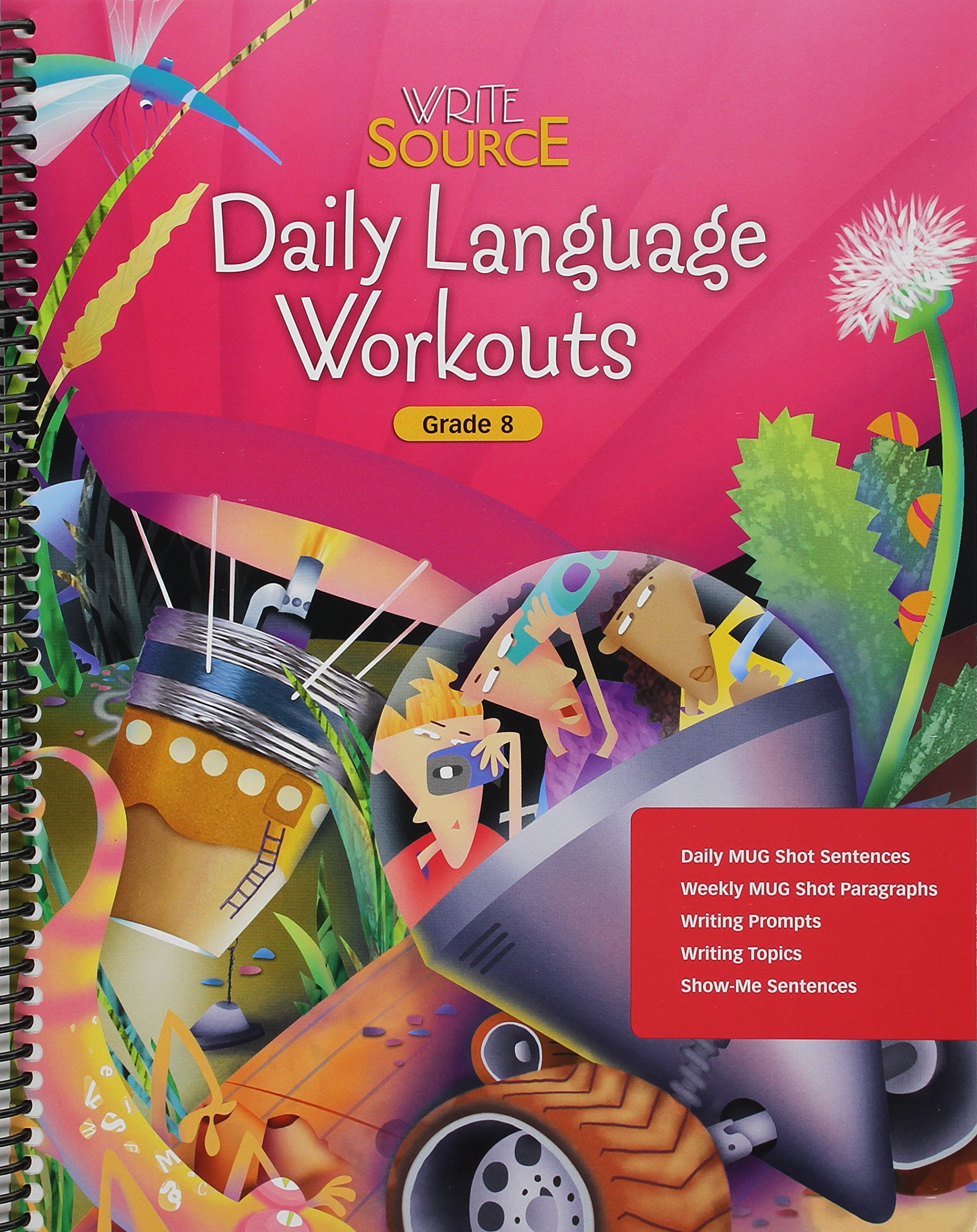 Write Source: Daily Language Workouts Grade 8 by Brand: GREAT SOURCE