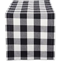 DII Cotton Buffalo Check Table Runner for Family Dinners or Gatherings, Indoor or Outdoor Parties, & Everyday Use, 100…