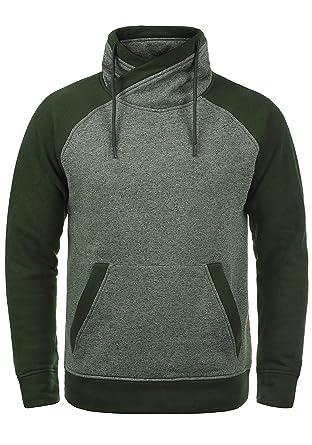 JACK   JONES Core Ridge Herren Sweatpullover Pullover Mit Cross-Over Kragen  Stehkragen, Größe fbc8d86be9