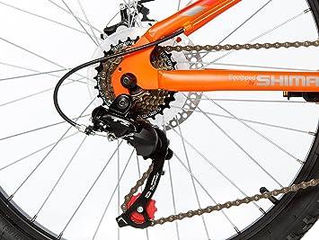 Moma Bikes Bicicleta Infantil, Montaña GTT24