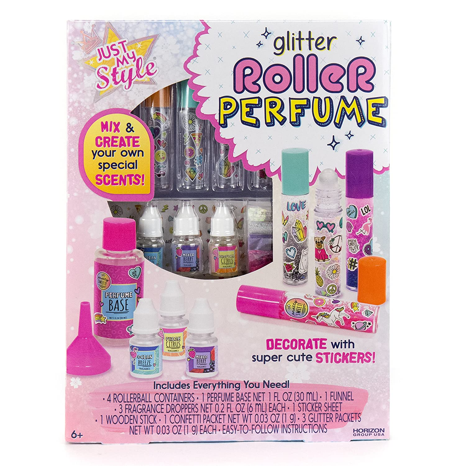 Just My Style Glitter Roller Perfume by Horizon Group USA