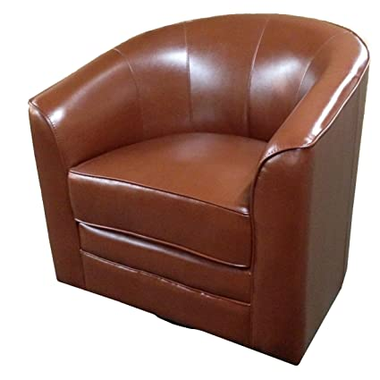 Dark Brown Accent Chairs.Emerald Home Milo Dark Brown Accent Chair With Faux Leather Upholstery Welt Trim And Curved Back