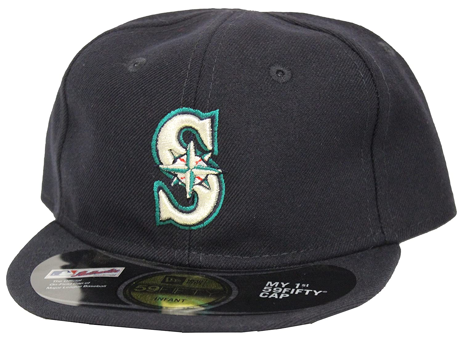 8c7dc3749b3 Amazon.com  New Era 59Fifty Seattle Marines My 1st Fitted Cap  Clothing