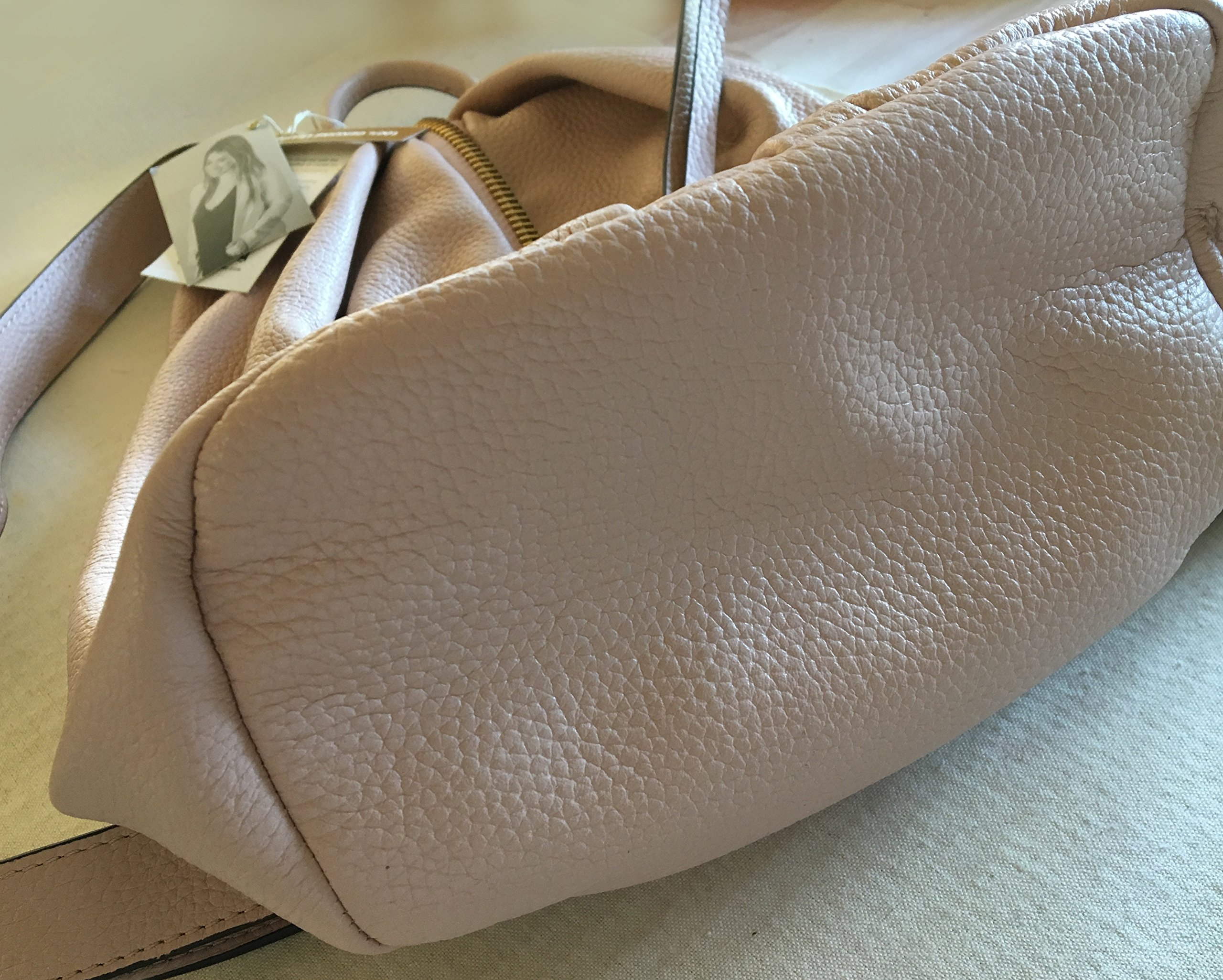 Aimee Kestenberg Tamitha Backpack Blush Leather Gold Hardware