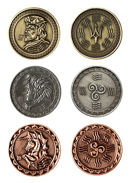 Larp Münzen Wasser Fantasy Währung Spiel Geld Von Battle Merchant