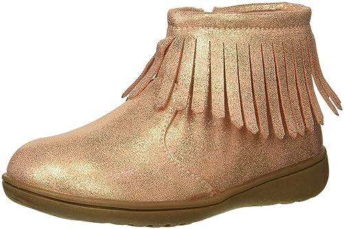 bc4292859fd carter s Kids Girl s Cata3 Rosegold Fringe Boot Chukka  Buy Online ...