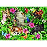 Ravensburger Tropical Friends Puzzle 60pc,Children's Puzzles