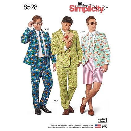 Amazon.com Simplicity Creative Patterns US8528BB Men\u0027s