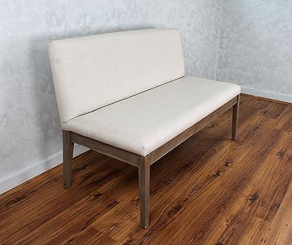 Fabulous Amazon Com Camden Bench W Back Kitchen Dining Machost Co Dining Chair Design Ideas Machostcouk