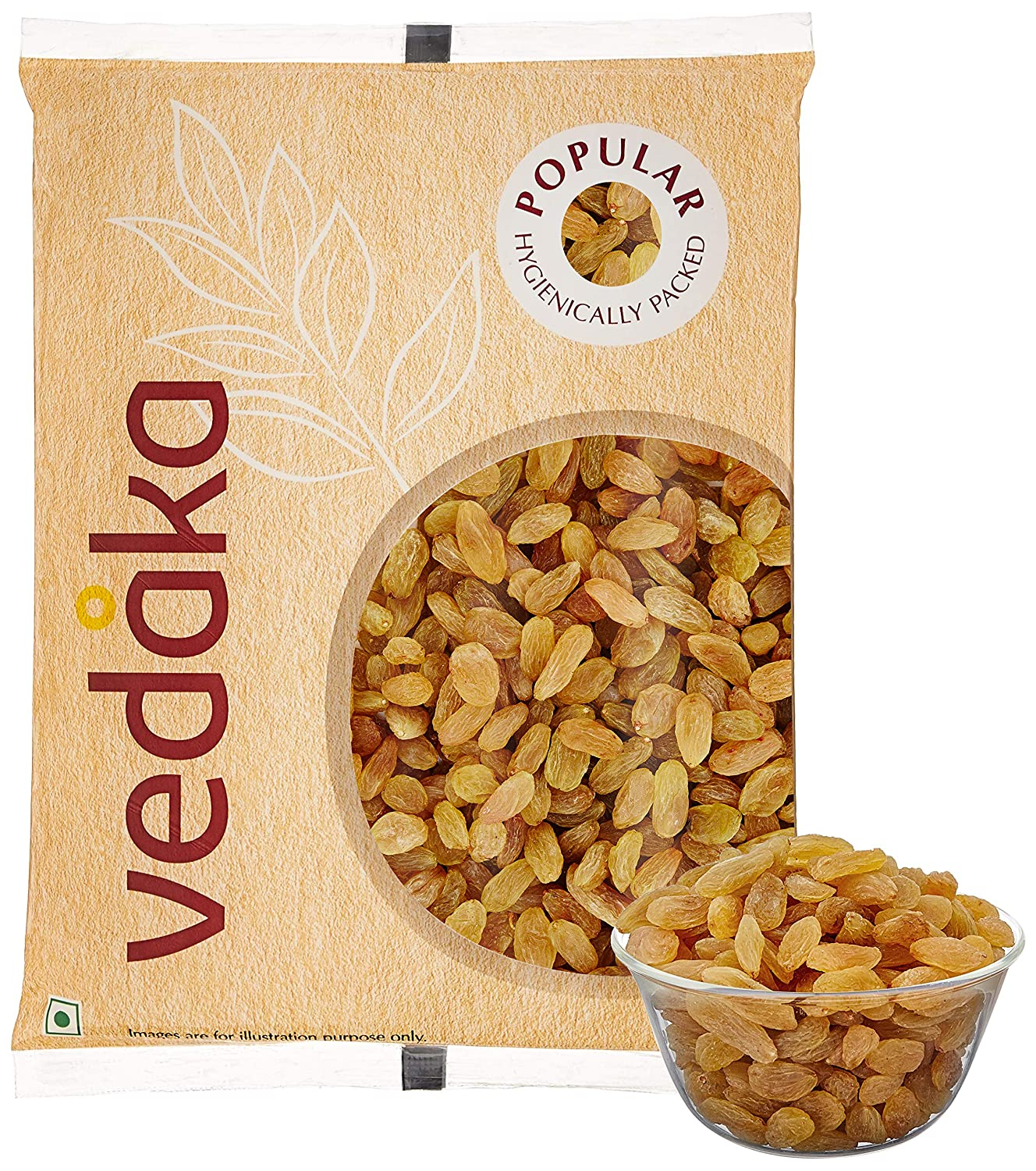 Vedaka Popular Raisins, 1kg