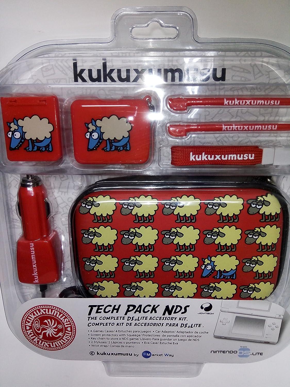 Pack Accesorios Kukuxumusu 11 en 1 DS: Amazon.es: Videojuegos
