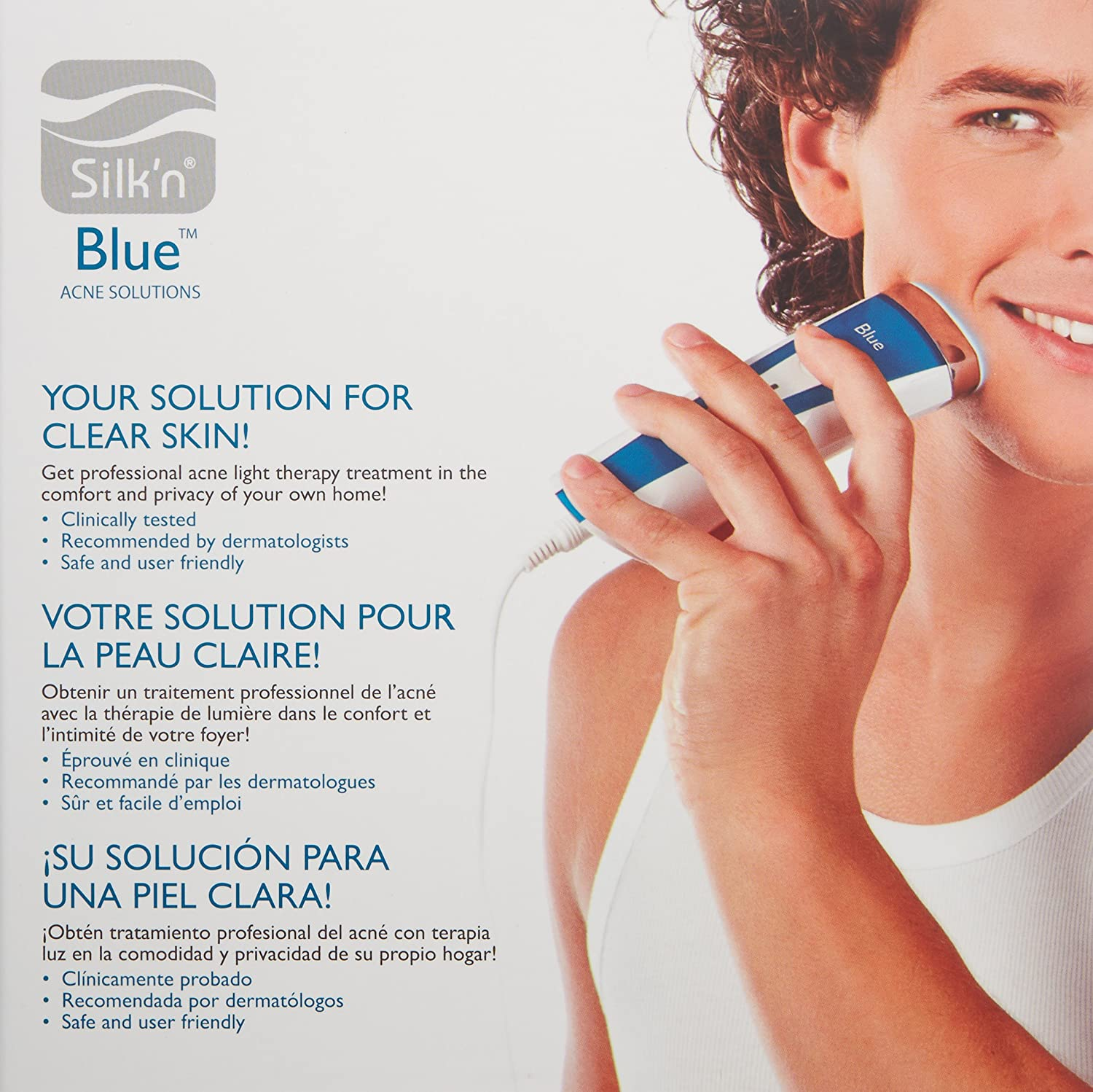 Amazon.com: Silk\'n Blue - Acne Solution Device - Clinically Proven ...