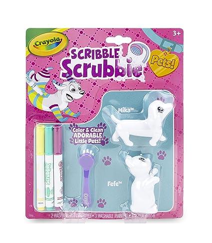 Amazon.com: Crayola Scribble Scrubbie, Color & Wash Pet Toys for ...