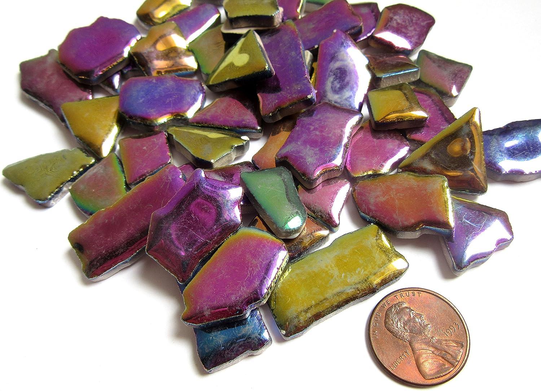 50-38 inch CHERRY RED Glitter Glass Mosaic Tiles