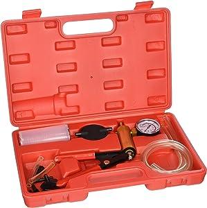 TruePower 20-2088 2 in1 Brake Bleeder Bleeding and Vacuum Pump Tester Kit Professional Automotive, 1 Pack