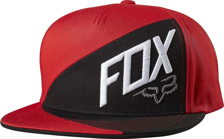 Amazon.com  Fox Men s Flat Bill Snapback Hat 866f37051daf