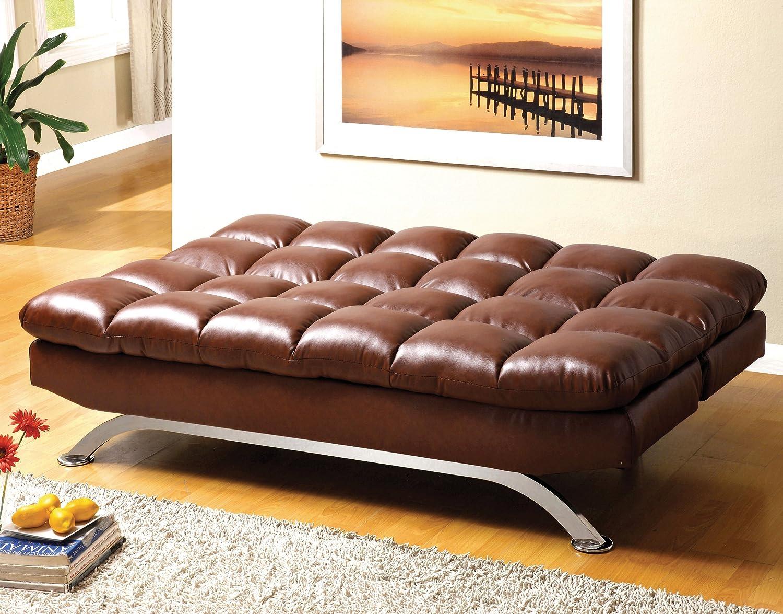 Amazon.com: enitial Lab Adelle Convertible sofá/futón ...
