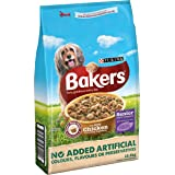 PURINA BAKERS Senior Chicken, Rice and Vegetable Dry Dog Food, 12.5 kg