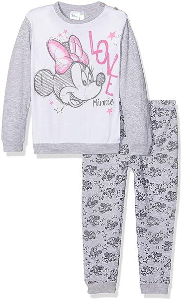 Disney 45306S/AZ, Pelele para Dormir para Bebés, Gris (Grigio Mel.
