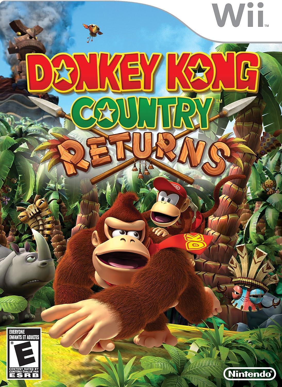 Donkey Kong Country Returns (Wii) [Importación inglesa]: Amazon.es: Videojuegos