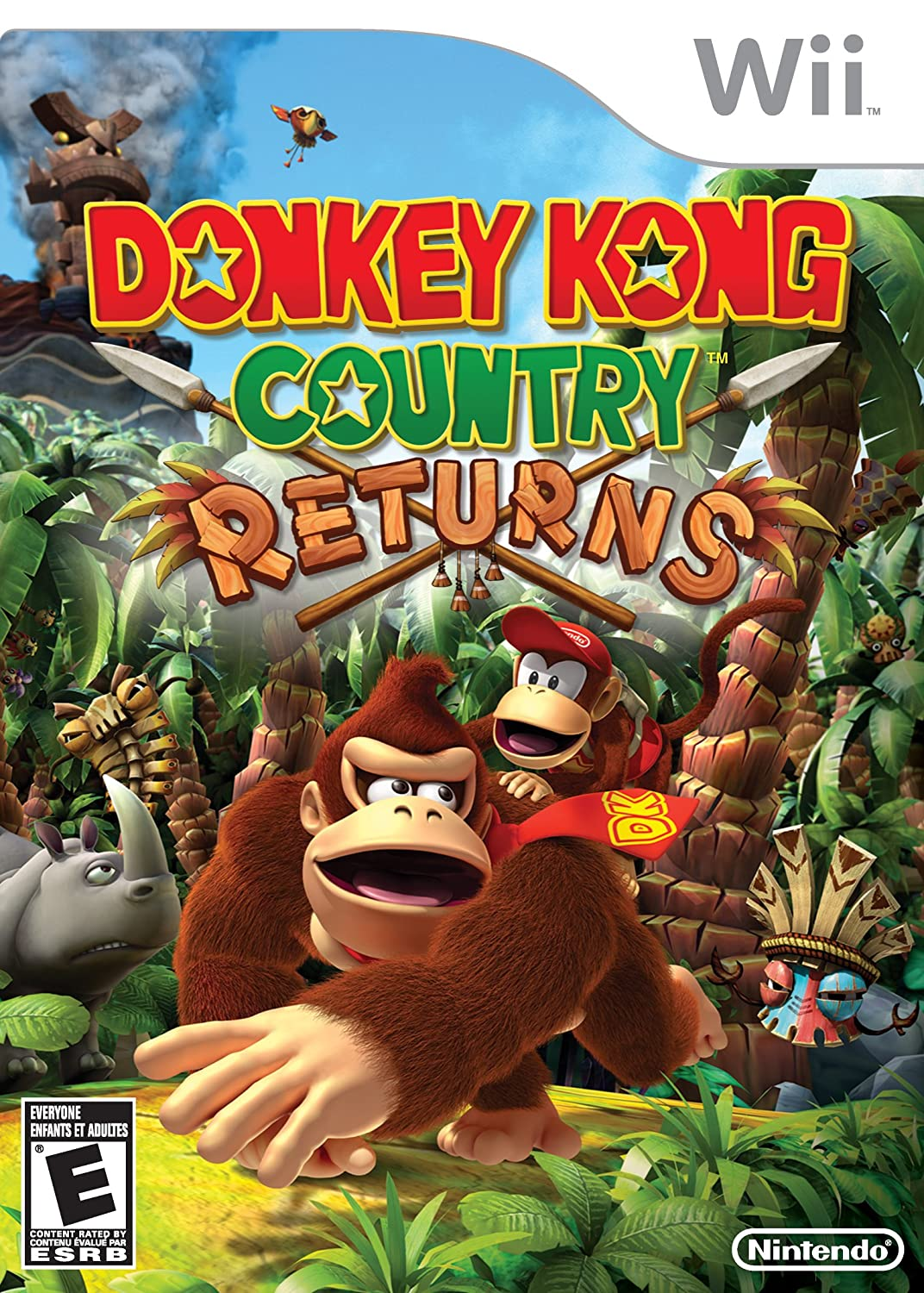 Donkey Kong Country Returns Video Games