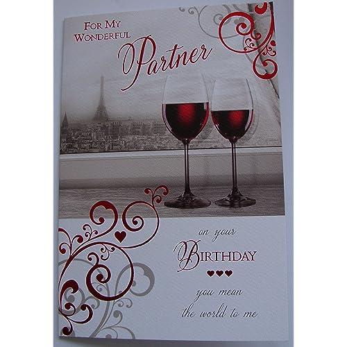 Partner Birthday Card Amazon