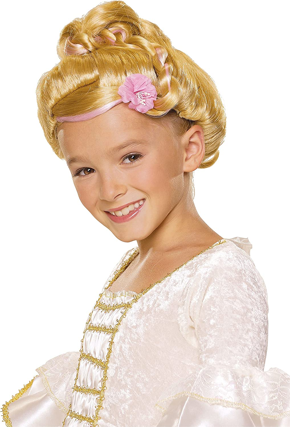 Rubie's Sophisticated Princess Child's Costume Wig, Raven Rubies - Domestic 51426