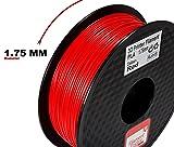 PLA Filament for 3D Printer - Vibrant Red 3D