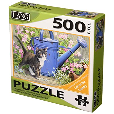 LANG Gardener\'s Assistant - Cat 500 Piece Jigsaw Puzzle: Office Products [5Bkhe0907031]