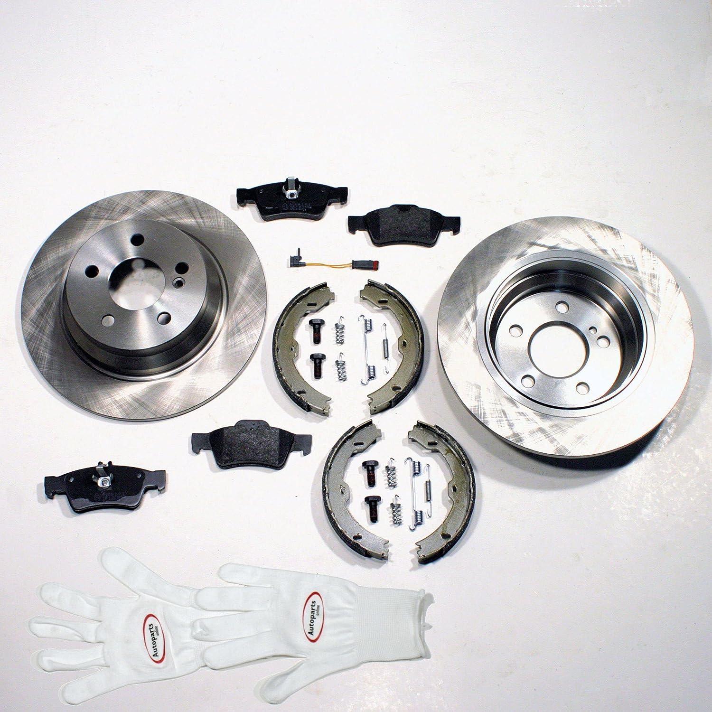 Autoparts-Online Set 60006967 Bremsscheiben /Ø 252 mm//Bremsen Bremsbel/äge vorne