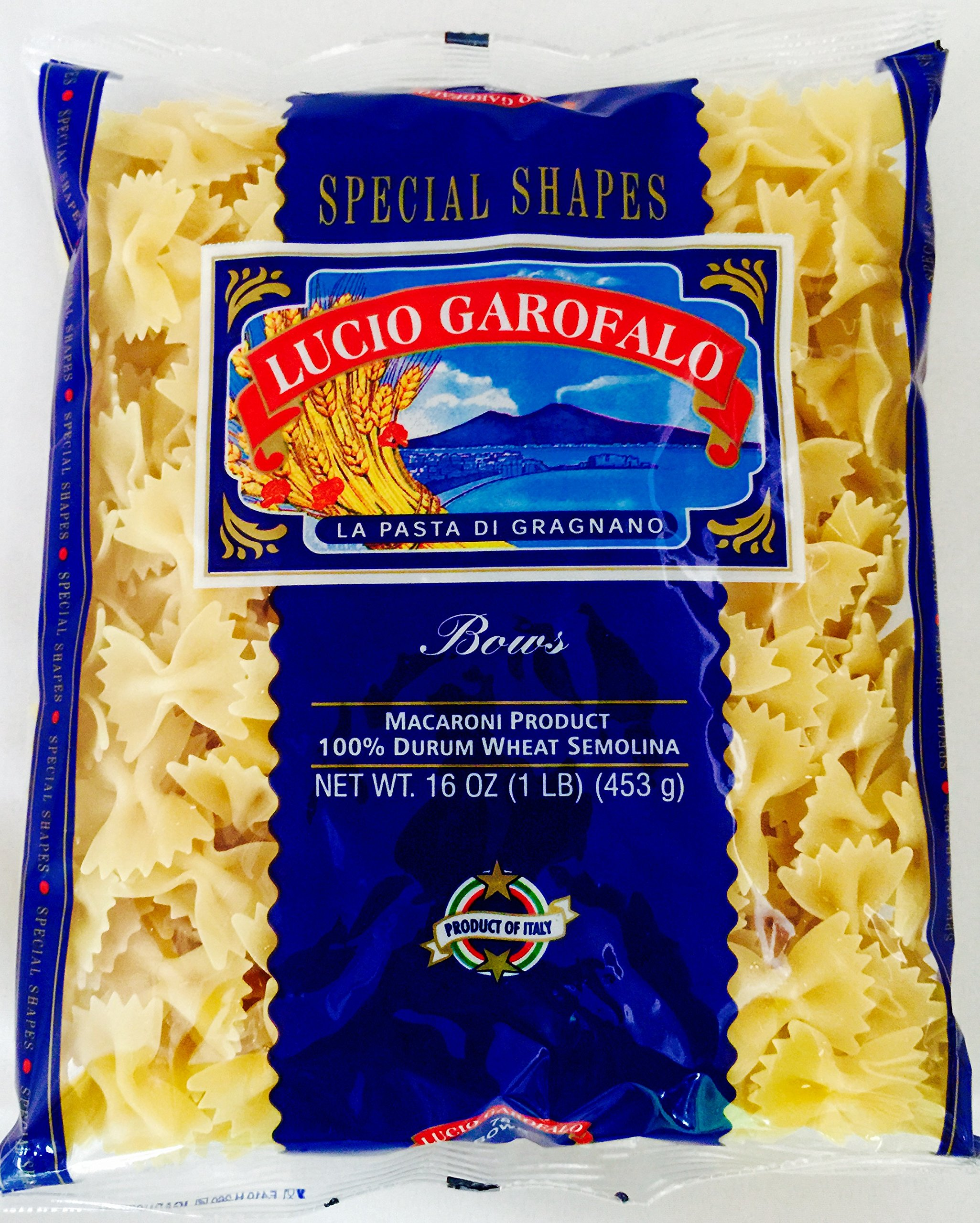 Garofalo Bow-Tie Pasta 16 Ounce (5 Pack)